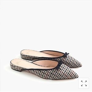 New w/box and sold out online! J. Crew Gwen mules